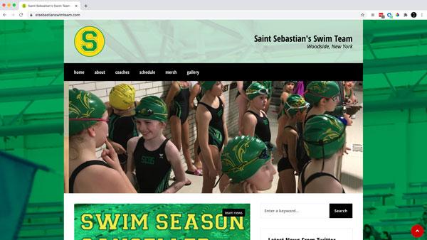saint sebastian's swim team site